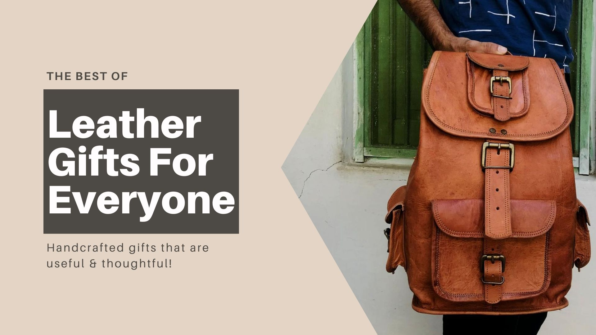 Leather Gifts: Handcrafted Gifts for Men & Women
