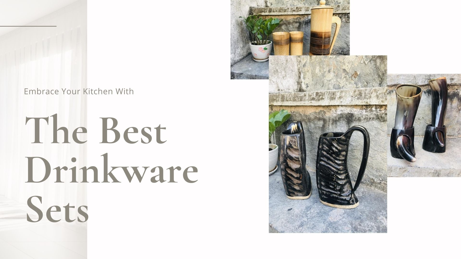 7 Best Drinkware Sets For Your Kitchen That Are Pretty Innovative