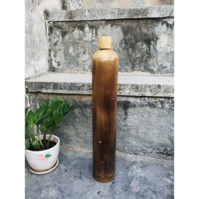 TipC 100% The organic Bamboo Water Bottle, Bamboo Grass, Water bottle, Handmade Bamboo, Flask, Healthy hygienic eco-Friendly & Biodegradable
