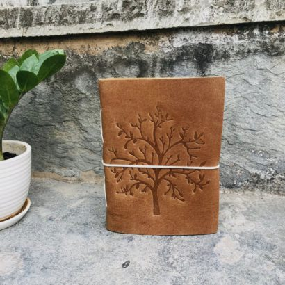 2 Tree of Life Suede Leather Journal, Travel Journal, Notebook, Non Refillable Diary Lock Journal Sketchbook, Newspaper, Best Valentine Gift
