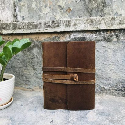 2 Suede Leather Journal, Travel Vintage Journal, Non-Refillable Diary, Lock Journal, Notebook, Sketchbook, Newspaper, Best Valentine Gift