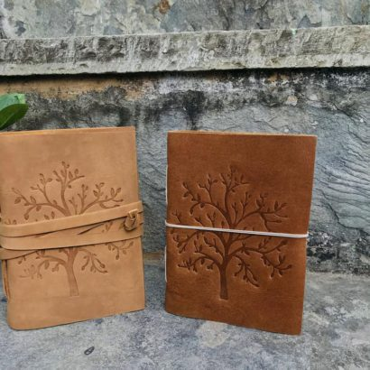 2 Tree of Life Leather Journal, Travel Vintage Journal, Leather Lock Notebook, Refillable Diary, Sketchbook, Newspaper, Best Valentine Gift